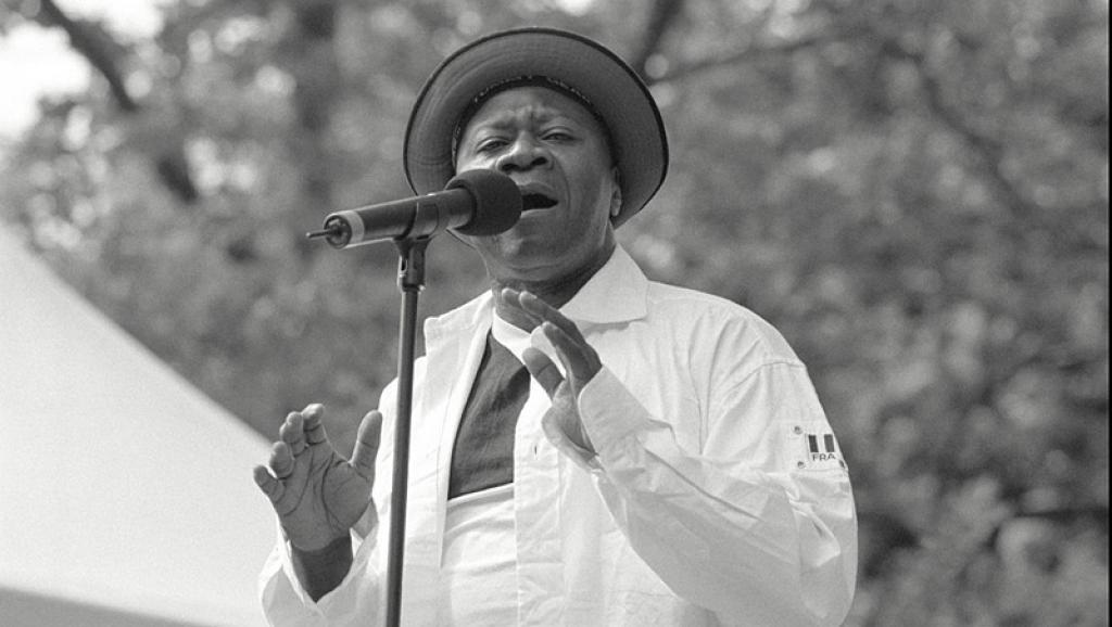 Papa Wemba à Central Park à Londres. ©