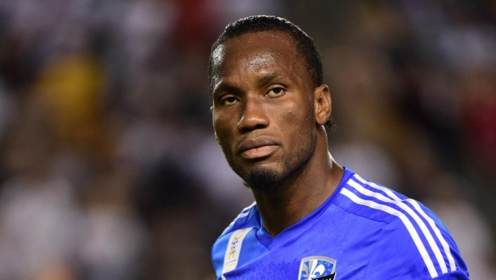 Didier Drogba. AFP PHOTO /FREDERIC J.BROWN